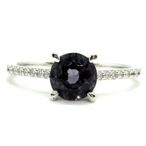 Prima Lux White gold ring spinel and diamonds