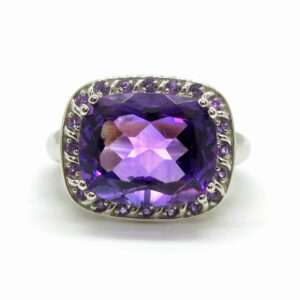 Prima Lux Amethyst cocktail ring