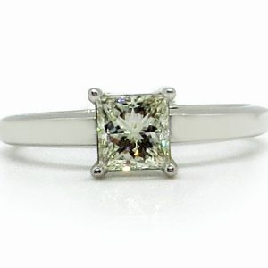 Prima Lux 13538WGR princess cut diamond ring