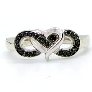 Prima Lux Infinity and heart ring